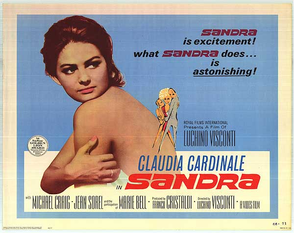 Our next event: Luchino Visconti's Sandra (1965) at ArtHouse Crouch End